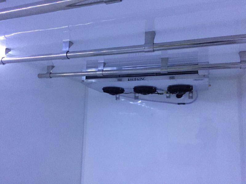 Aparelho de refrigeração para bau frigorifico