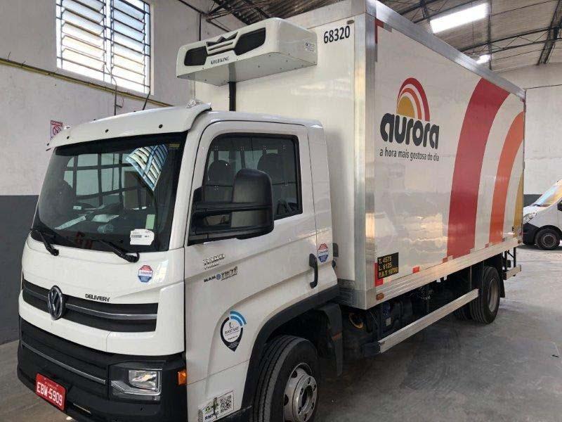 Baú frigorífico para caminhão