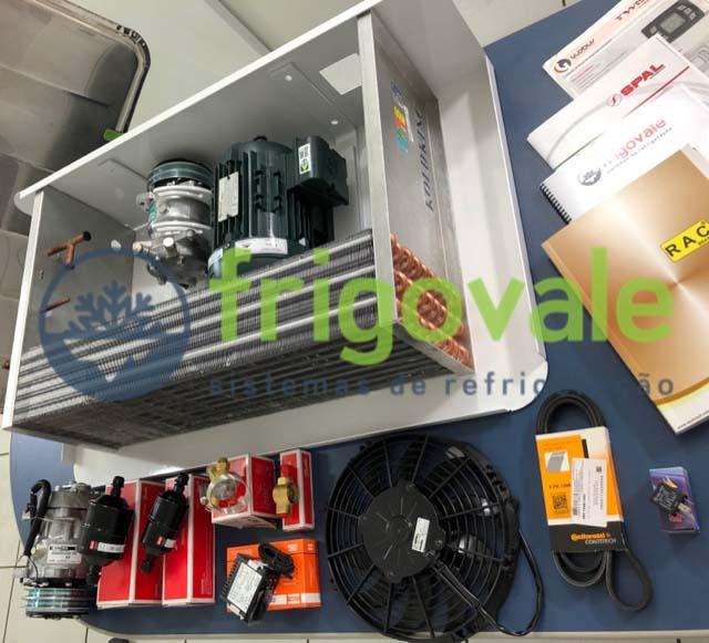 Equipamento de refrigeração para bau