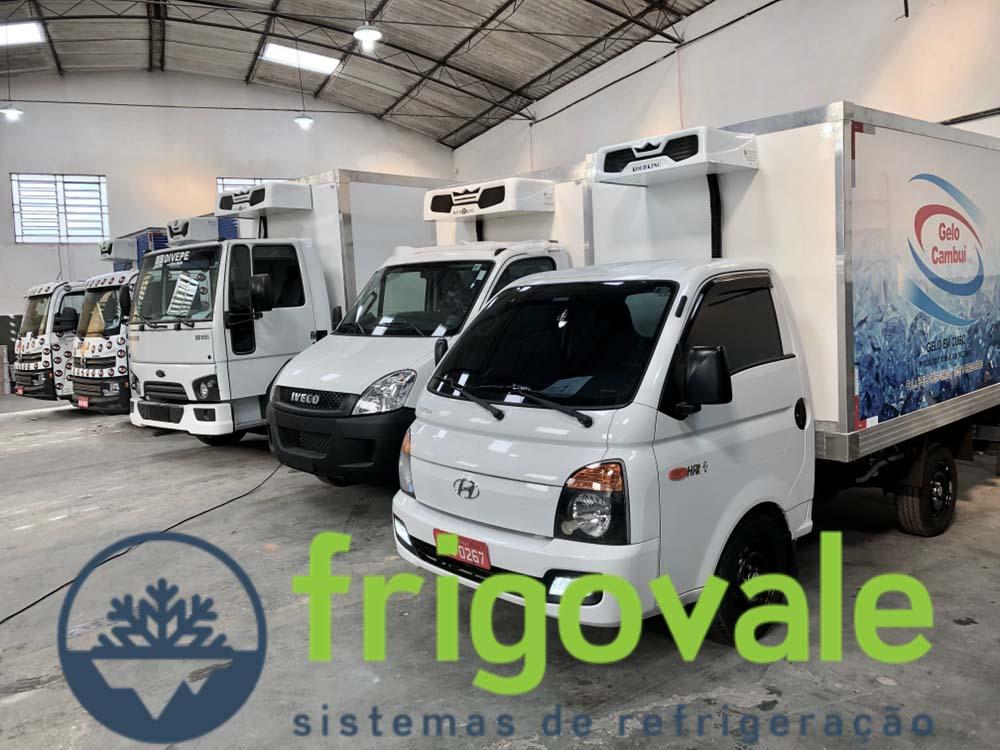 Equipamento de refrigeração para caminhão