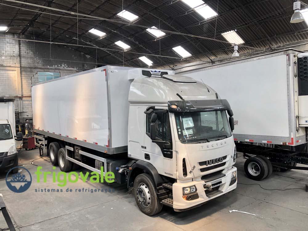 Refrigeração de caminhão