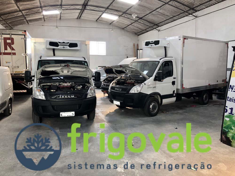 Sistema de refrigeração para transporte de perecíveis